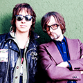 Julian Casablancas and Jarvis Cocker