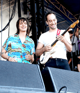 Albert and Julian at the Governors Ball