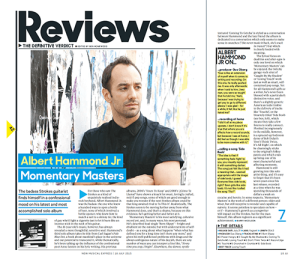 NME Albert Hammond Jr Momentary Masters Review