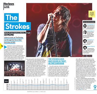 NME Shaky Knees Festival Scan