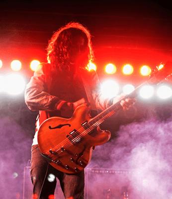 Nick Valensi plays FYF Festival