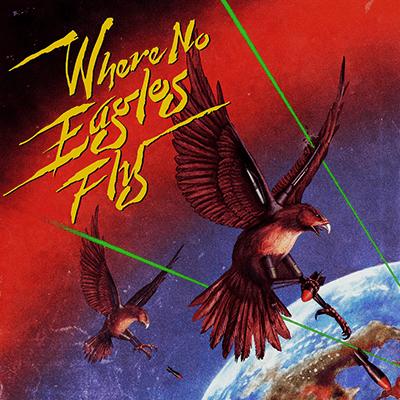 Julian Casablancas + The Voidz Where No Eagles Fly Artwork